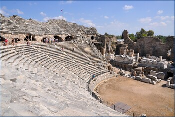 В античном амфитеатре в Сиде пройдет первый турецко-русский Фестиваль классической музыки