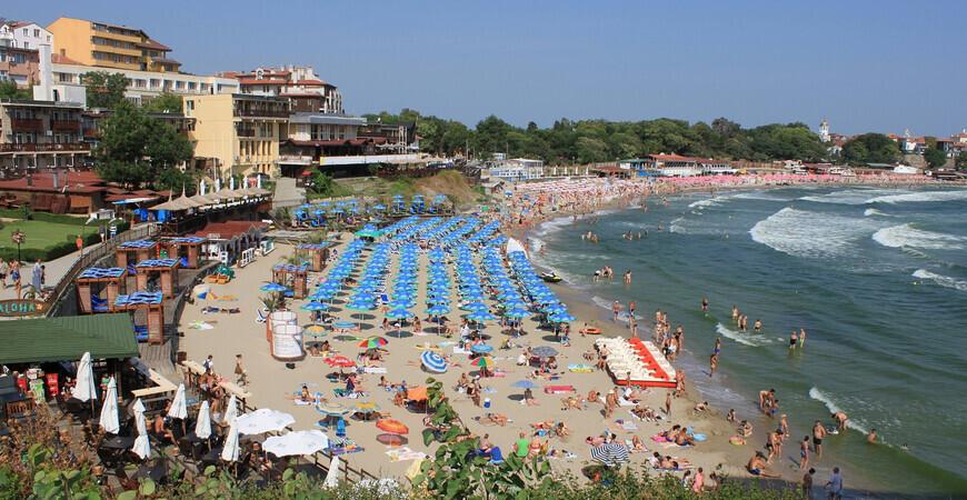 Центральный пляж Созополя (Централ-Бич)