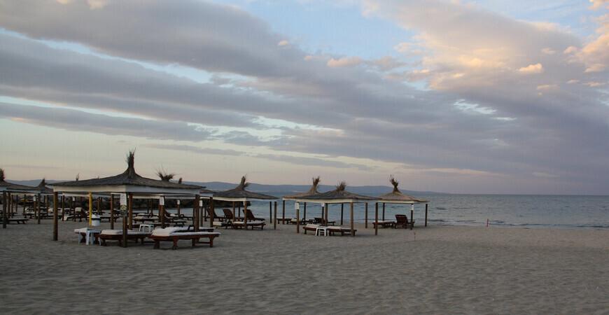 Центральный пляж Помория