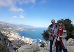 И напоследок - вид на Монако с высоты птичьего полета