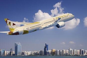 Авиакомпания Etihad откроет второй ежедневный рейс из Абу-Даби в Домодедово