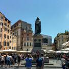 Площадь Кампо деи Фиори в Риме