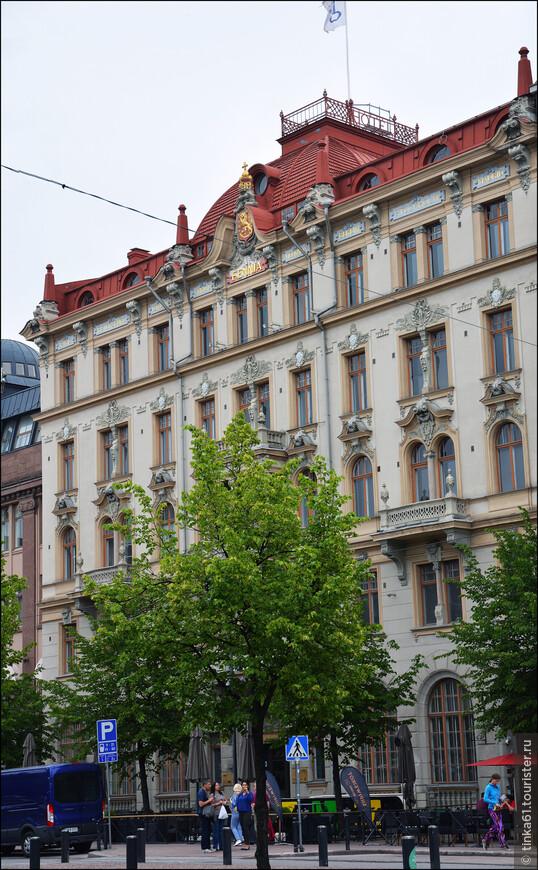 Вообще в центре города совсем немало красивых старинный зданий. Есть, чем полюбоваться, что поразглядывать.