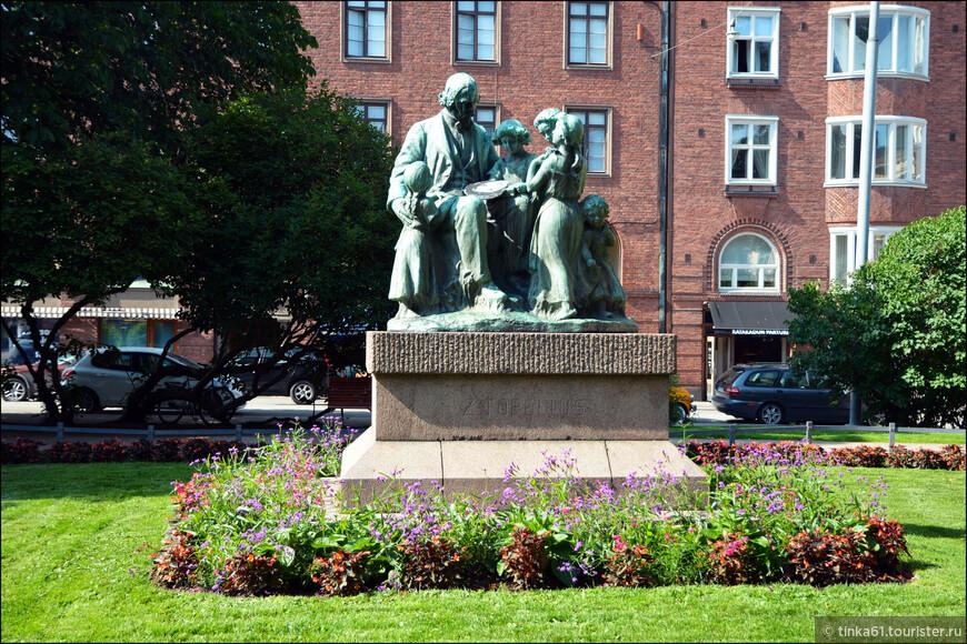 В Европе Топелиус прежде всего известне, как автор сказок.