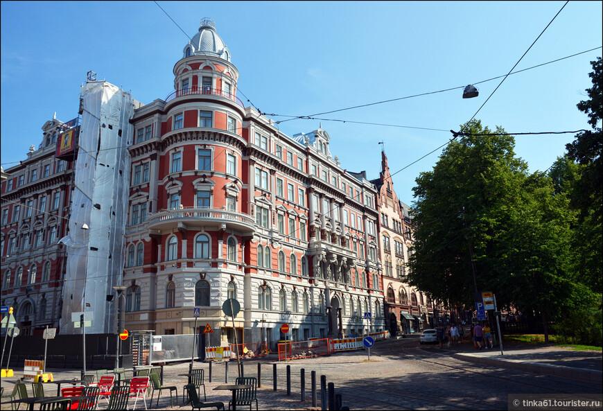 И в Хельсинки можно найти великолепную архитектуру!