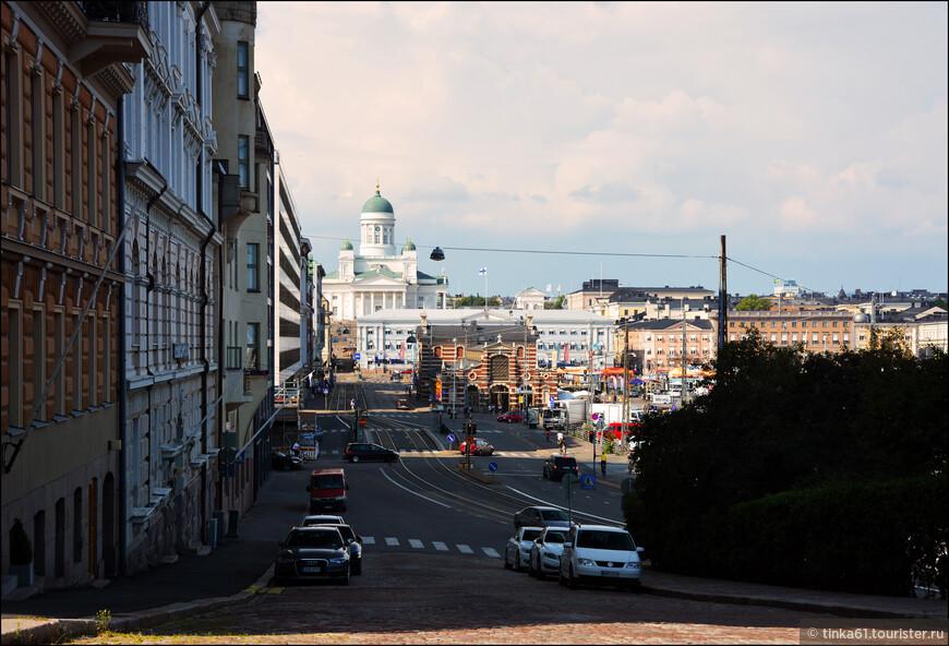 Вид на Кафедральный собор  и  Рынок.