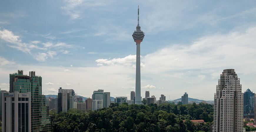 Телевизионная башня Менара в Куала-Лумпур