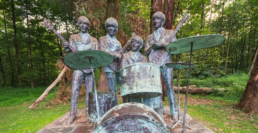 Парк Музыкантов в Шекветили
