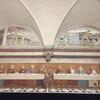 фреска в рефектории Тайна вечеря, где монахи кушали в молчании, экскурсии по Тоскане и винно-гастрономические туры с частным индивидуальным гидом на русском языке