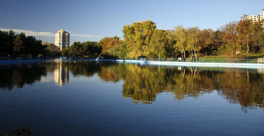 Парк Победы в Одессе (Дендропарк Перемога)