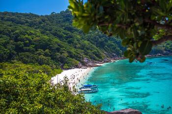 В Таиланде закрыли для туристов Симиланские острова