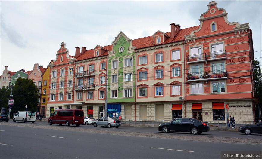 Новострой на Ленинском проспекте.
