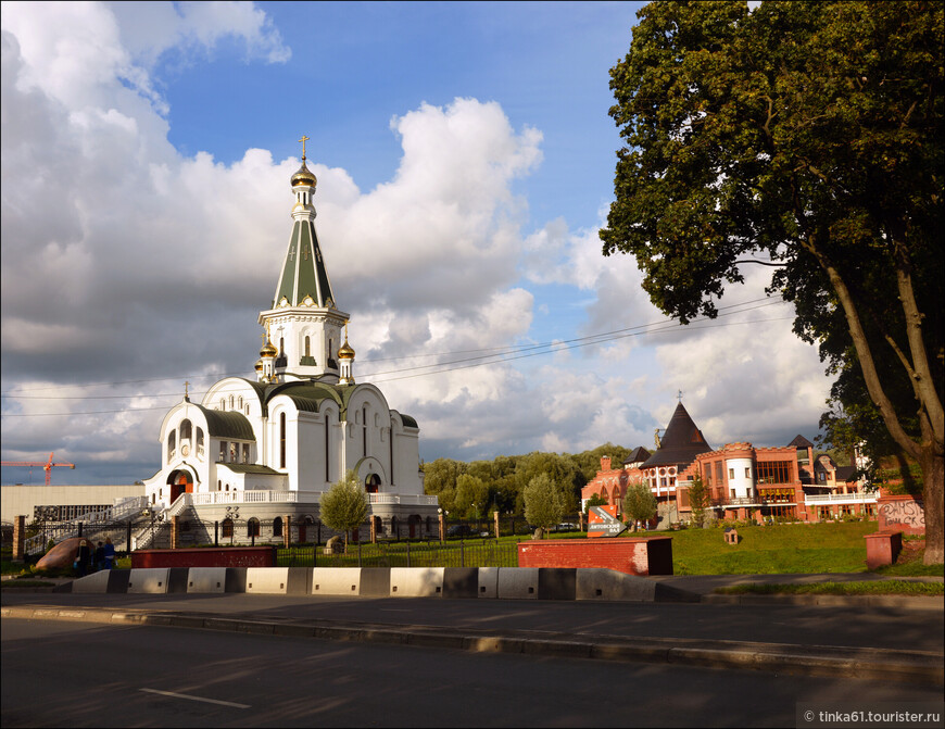 Храм Святого Александра Невского.