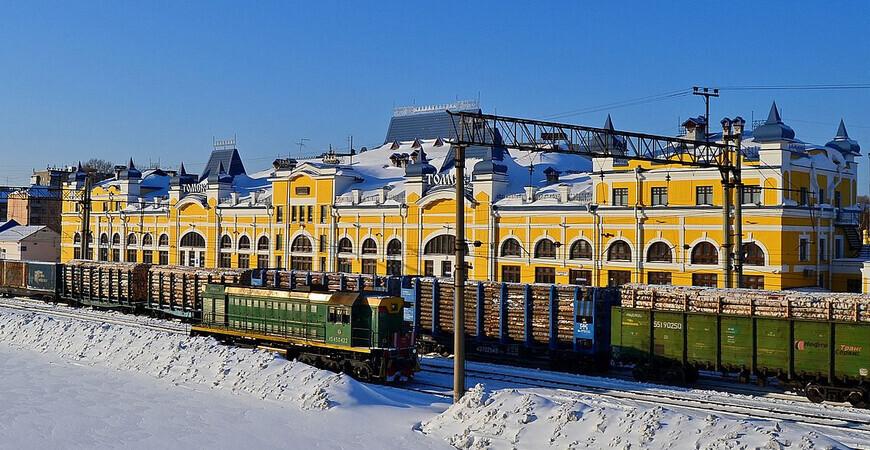 Железнодорожный вокзал Томска