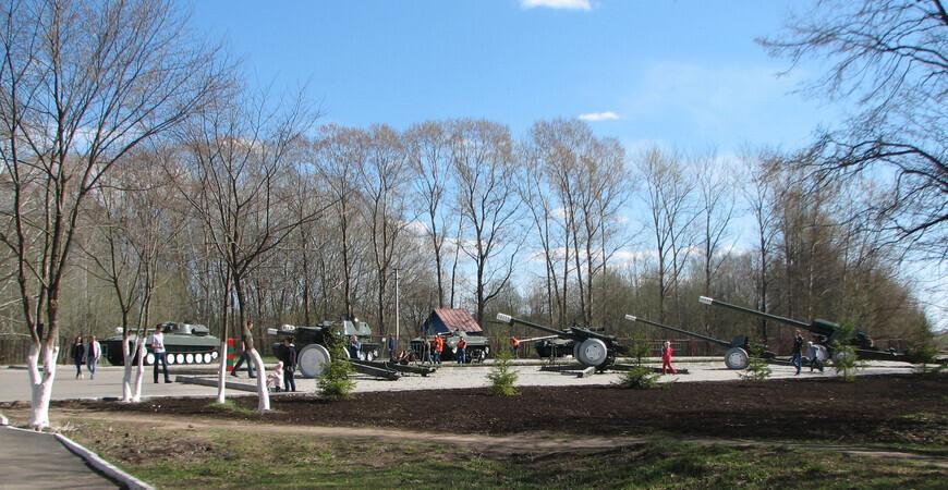 Парк Победы в Вологде