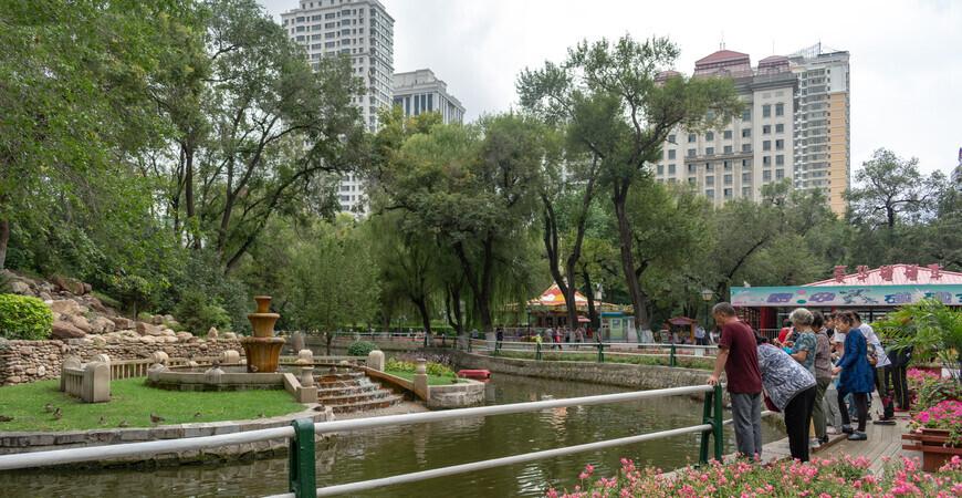 Парк Чжаолинь (Zhaolin Park)