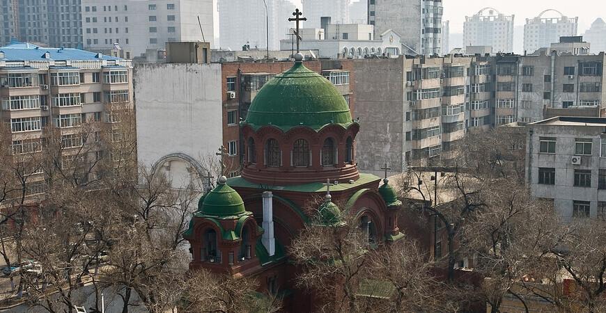 Храм Покрова Пресвятой Богородицы в Харбине (Church of the Intercession)