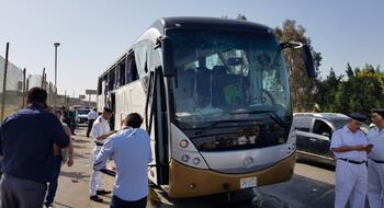 В Египте прогремел взрыв рядом с туристическим автобусом: 17 раненых