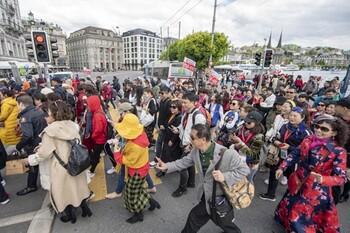 В Швейцарию прибыла самая большая в истории тургруппа из 12 000 китайцев