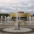 Поющий Театральный фонтан в Краснодаре