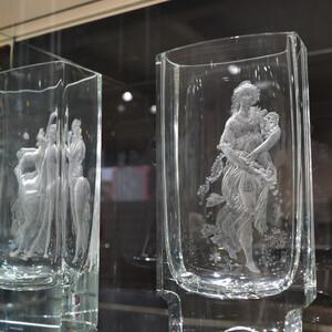 Чешское стекло в лучах воспоминаний