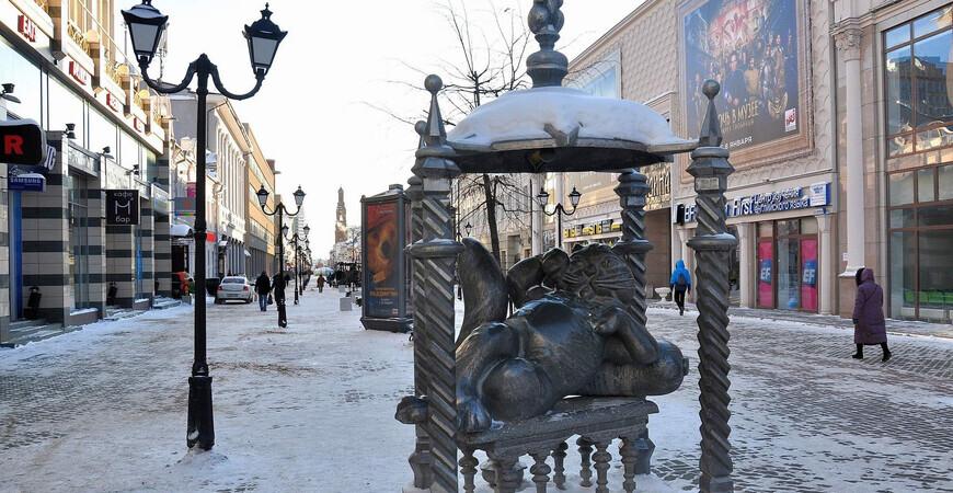 Памятник Кот Казанский