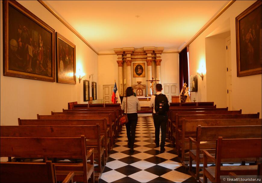Дворец Ла-Монеда — святая святых истории Чили