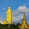 Статуя Будды в Мониве