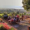 Виноградники на озере Инле