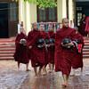 Шествие монахов, Амарапура