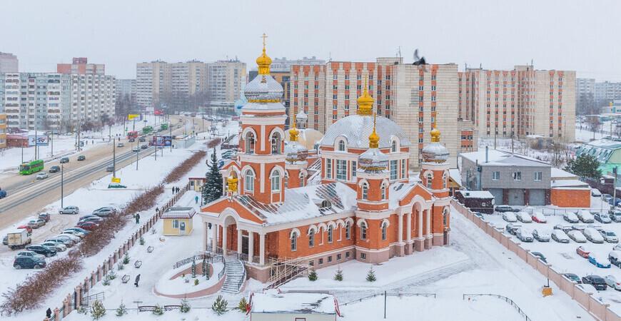 Храм в честь иконы Божией Матери «Умиление» в Казани