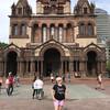 Церковь Св. Троицы в центре города. Экскурсия по Бостону с Ярославом Бондаренко.
