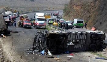 В Мексике в ДТП с автобусом погибли более 20 человек, в том числе туристы