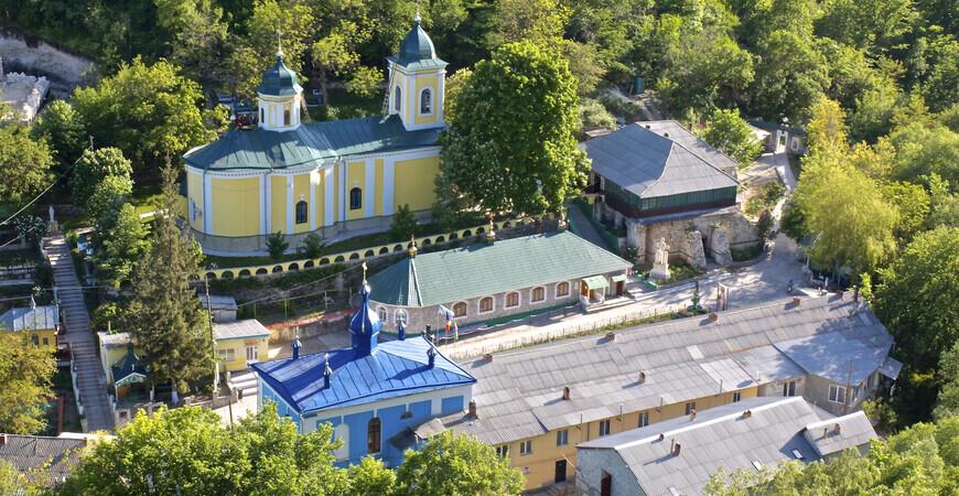 Монастырь Сахарна в Молдове
