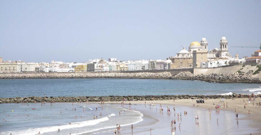 Пляж Санта-Мария-дель-Мар
