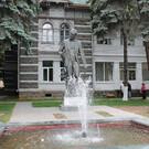 Памятник П.И. Чайковскому в Боржоми