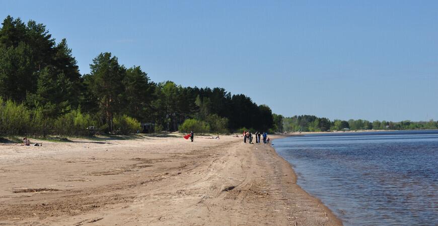 Пляж Коккорево