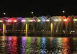 Мост с фонтанами на р.Ханган