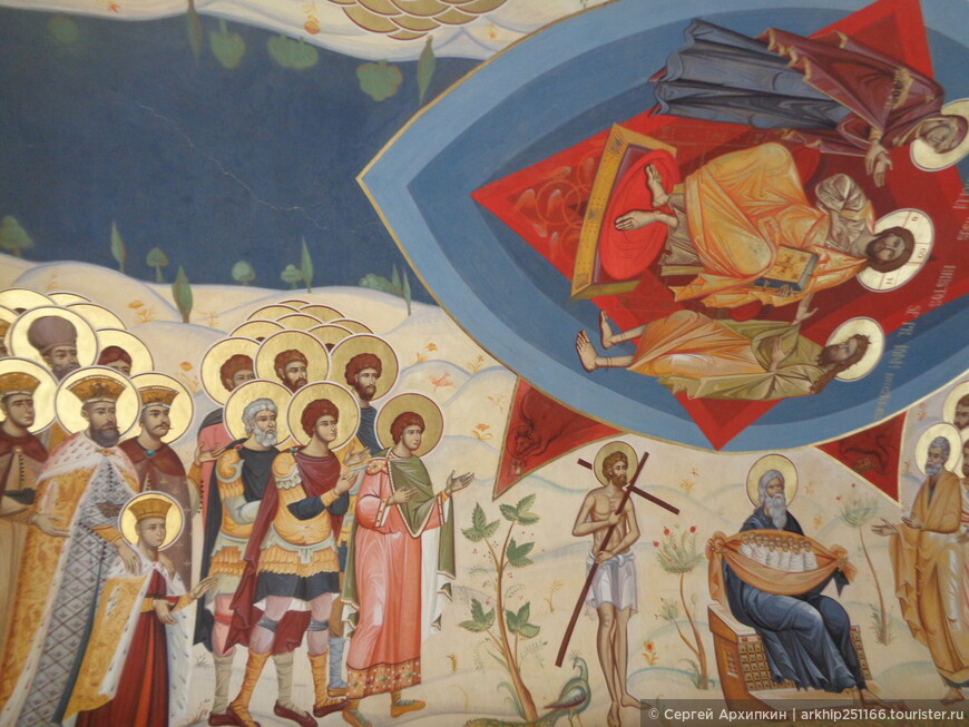 Фрески в монастыре Антим