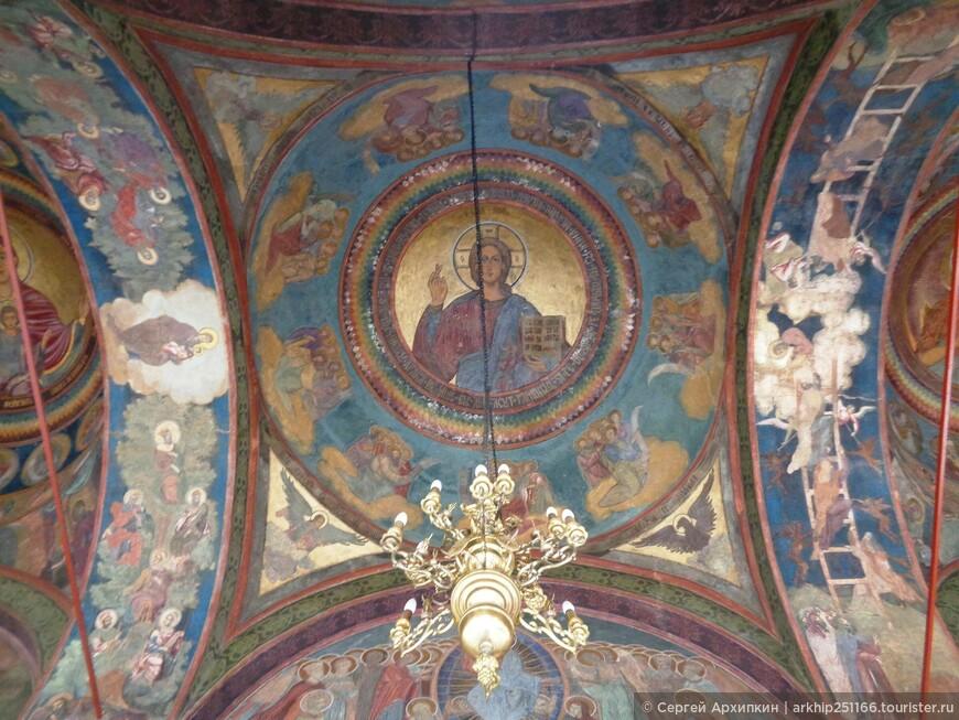 Фрески 17 века