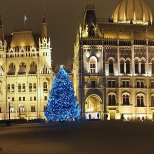 Рождественская ярмарка.Будапешт. 2015