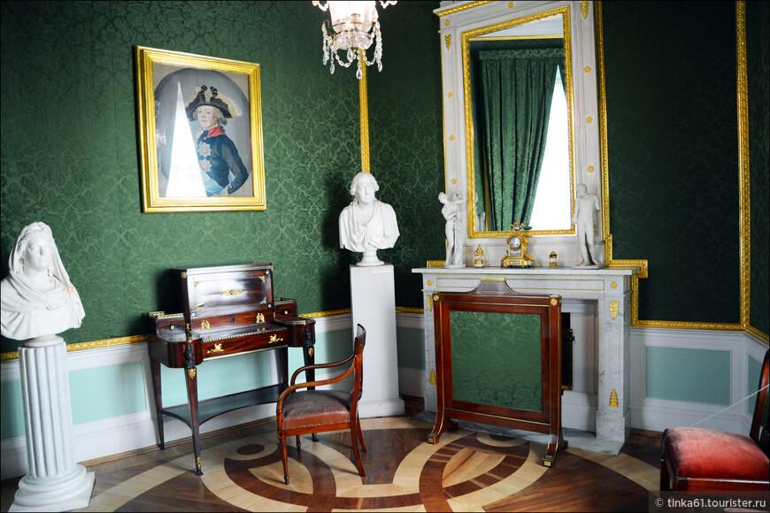 Башенный кабинет императрицы Марии Федоровны.
