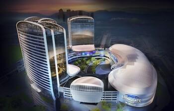 В Китае откроют первый в мире вертикальный тематический парк