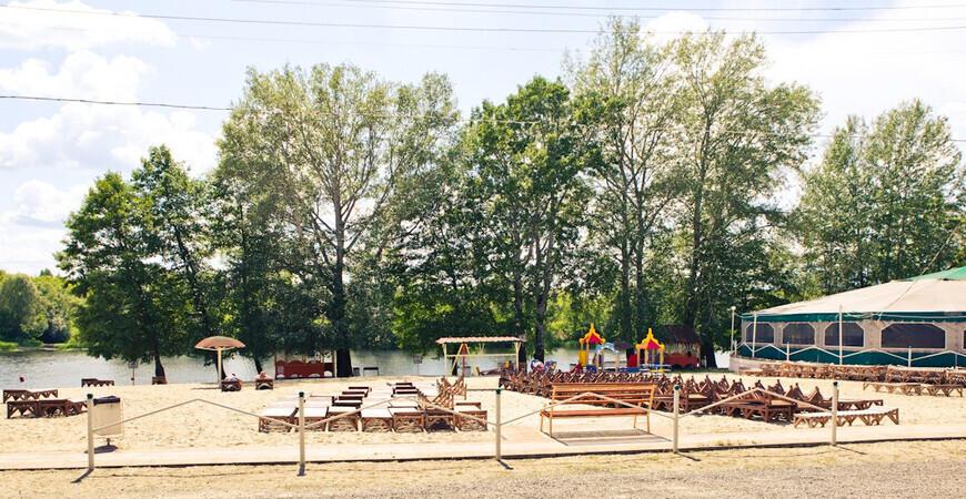 Пляж «Здоровье» в Курске