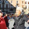 гид в работе:)) экскурсия с частным индивидуальным гидом по Флоренции
