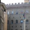 зубцы гвельфского типа на дворце Спини Ферони, в 19 веке здесь был отель , в котором останавливался Пётр Ильич Чайковский, экскурсия с частным индивидуальным гидом по Флоренции