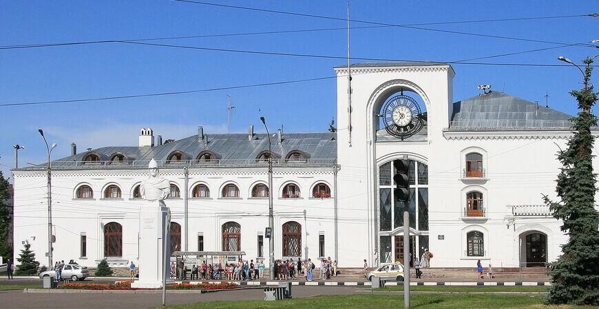 Ж/д вокзал Великого Новгорода (Станция Новгород-на-Волхове)