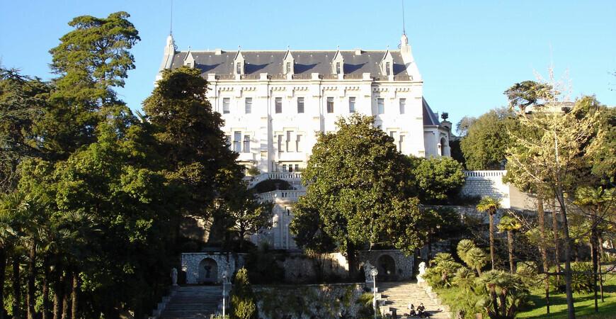 Замок Вальроз в Ницце