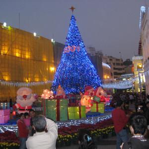 Рождественские Макао и Гонконг