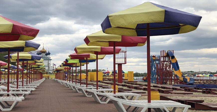 Пляж «Солнечный берег» в Челябинске